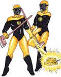 Yellow Lantern Janitors