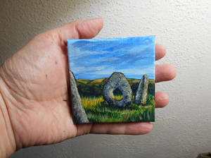 Pocket Painting - Standing Stones
