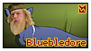 Bluebledore Stamp by RubberSoul4