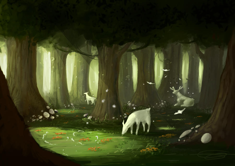 Spirits of the Forest by DINO-SAWR