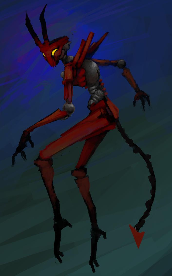 Devilbot by DINO-SAWR