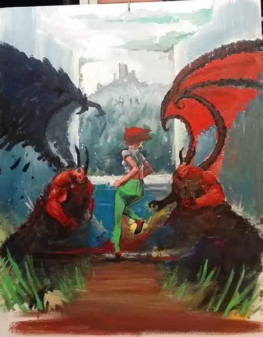 Inner Demons by DINO-SAWR