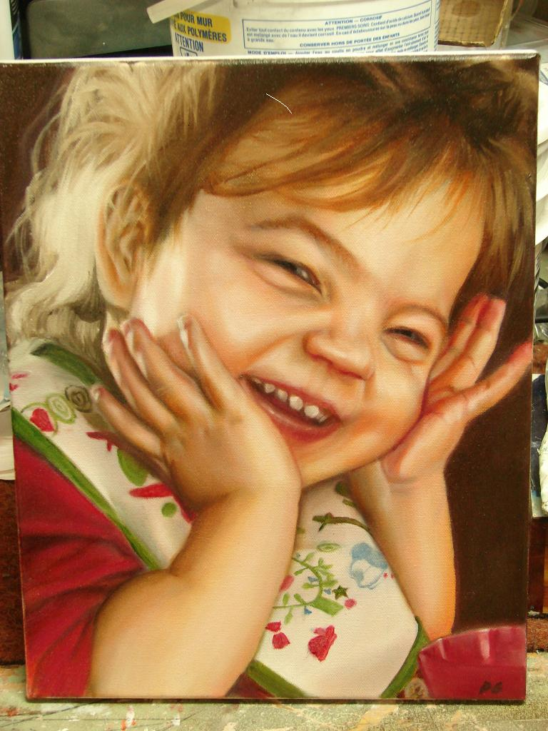 Rire d'enfant by Tibb-the-Artist