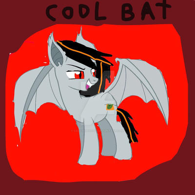 Cool bat by coolpony9284