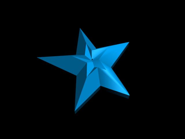 3d star experiment by tsukinesara on deviantart for 3d star net