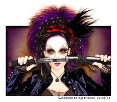 Geisha Warrior by PikNicx