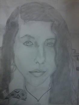 My First Self Portrait