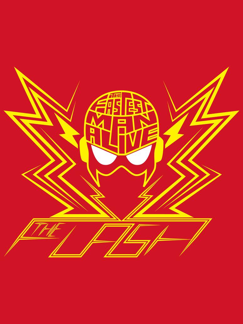 Fastest Man Alive t-shirt by Vic-Neko
