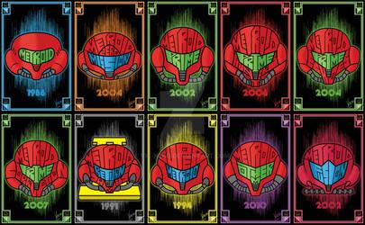 Metroid Helmets
