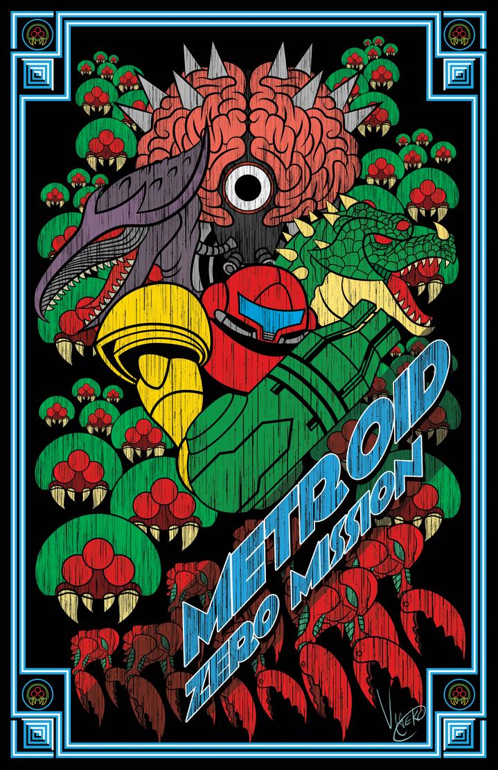 Metroid Zero Mission by Vic-Neko