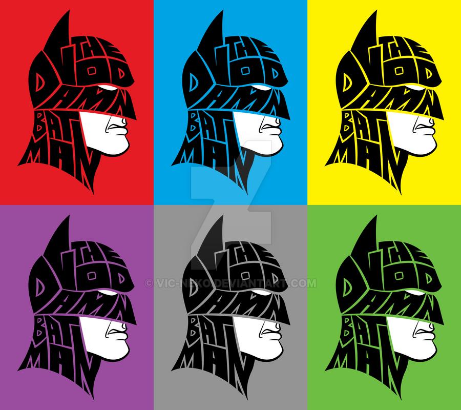 The Goddamn Batman shirt by Vic-Neko