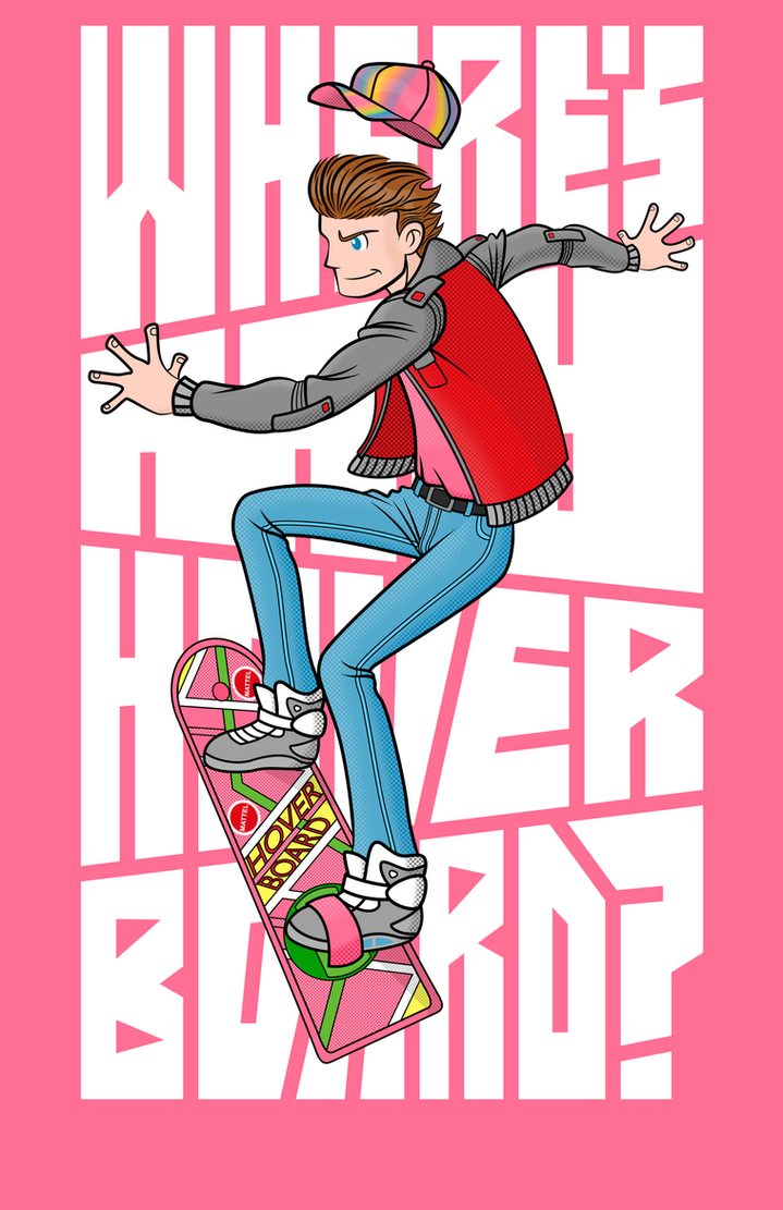 Where's my HoverBoard? by Vic-Neko