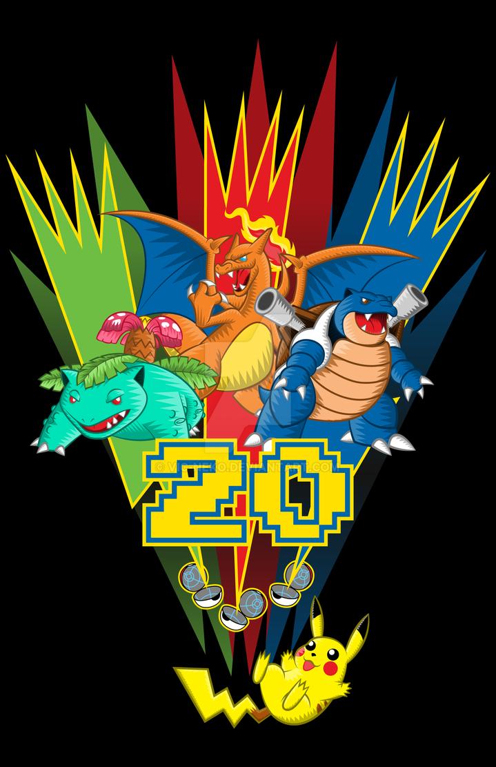 20 Years - shirt by Vic-Neko