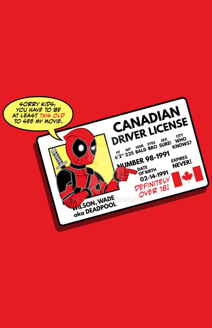 Deadpool ID - shirt by Vic-Neko