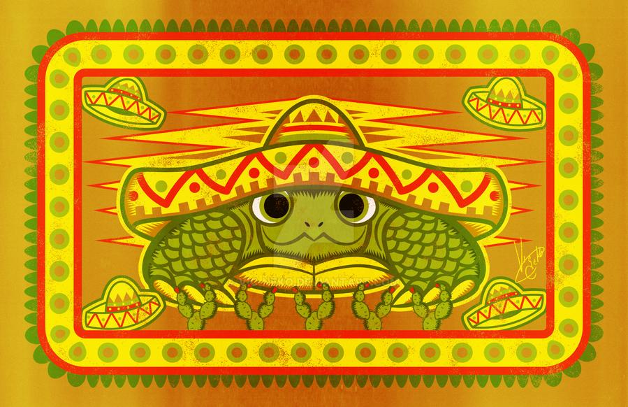 Sombrero Turtle! by Vic-Neko