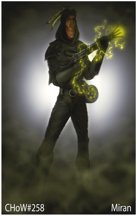 Gunslinger Alchemist by Miran