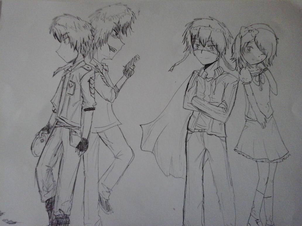 Some sketches XD by AnoraHikari99