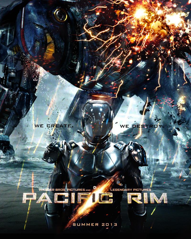 pacific rim movie poster by olenar on deviantart