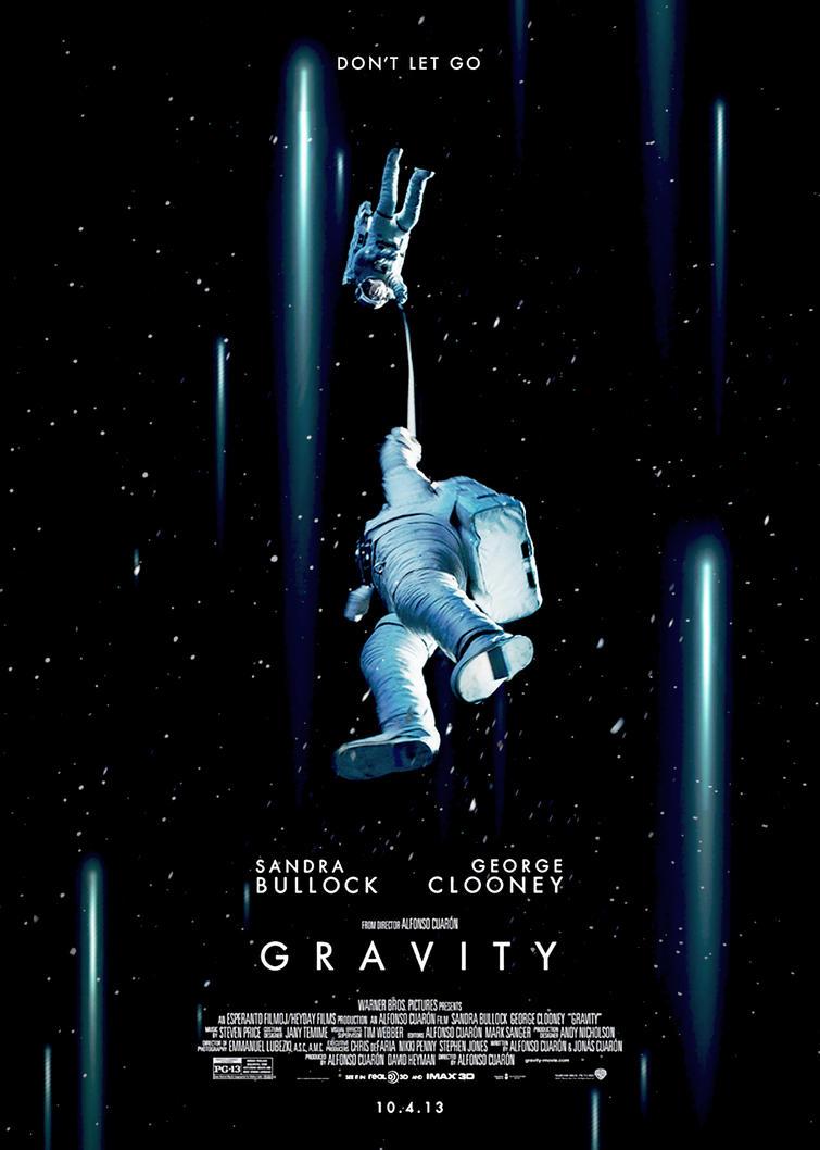 gravity movie posterolenar on deviantart
