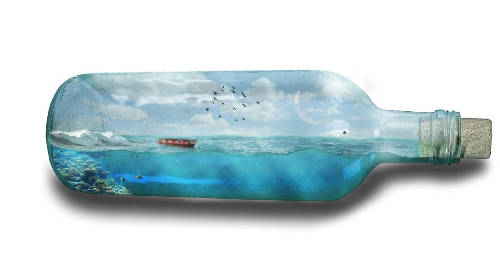 Seaworld in a bottle by Cindy-trekfan