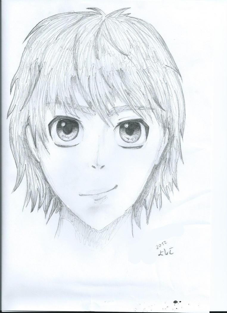 Anime pencil drawing by yoshiko5021 on DeviantArt