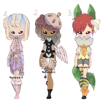 Adoptables - [closed] by xFpno
