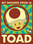 Toad for resident stool