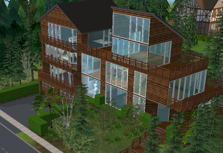 The Cullens House on The Sims by ambermariee17 on DeviantArt
