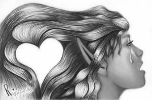 Sometimes, love hurts... by Rajacenna