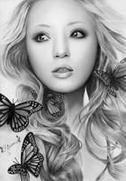 Butterfly Beauty by Rajacenna