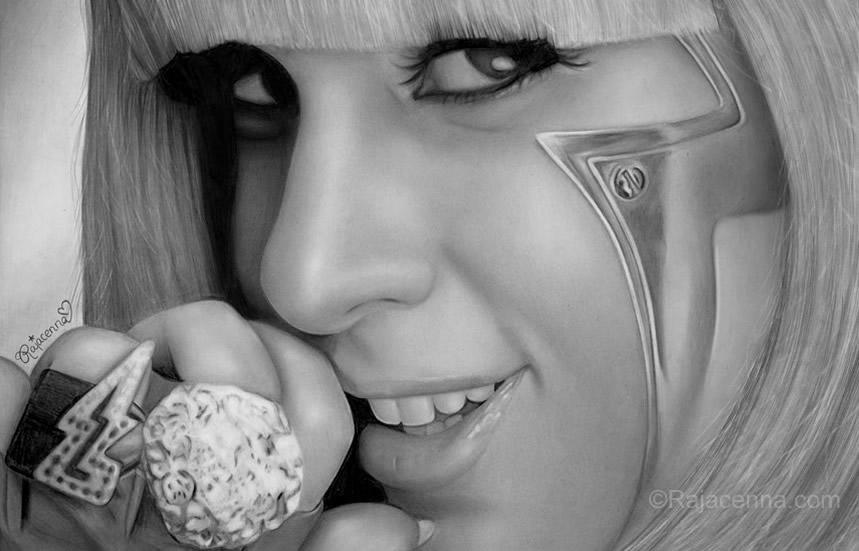 Lady Gaga II by Rajacenna