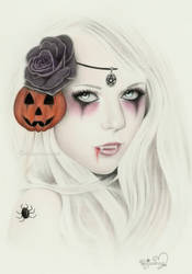 Halloween Mystery Lady