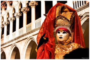 Venitian Lady at Kingdom by PhilippeGaravel