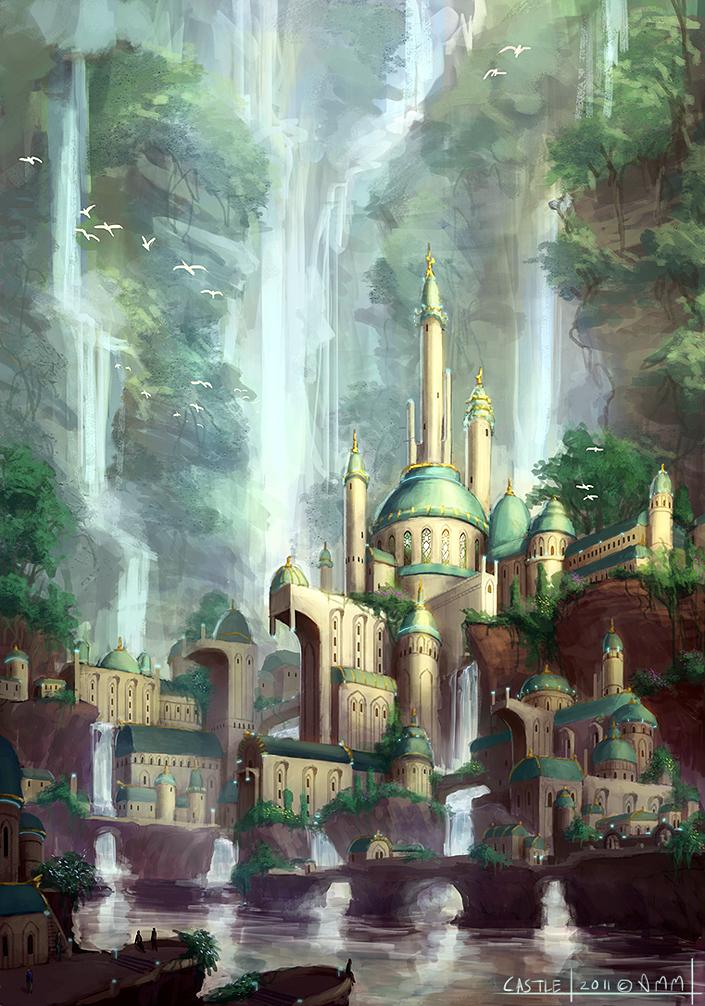 Castle by AM-Markussen