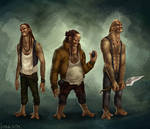 Three giants by AM-Markussen