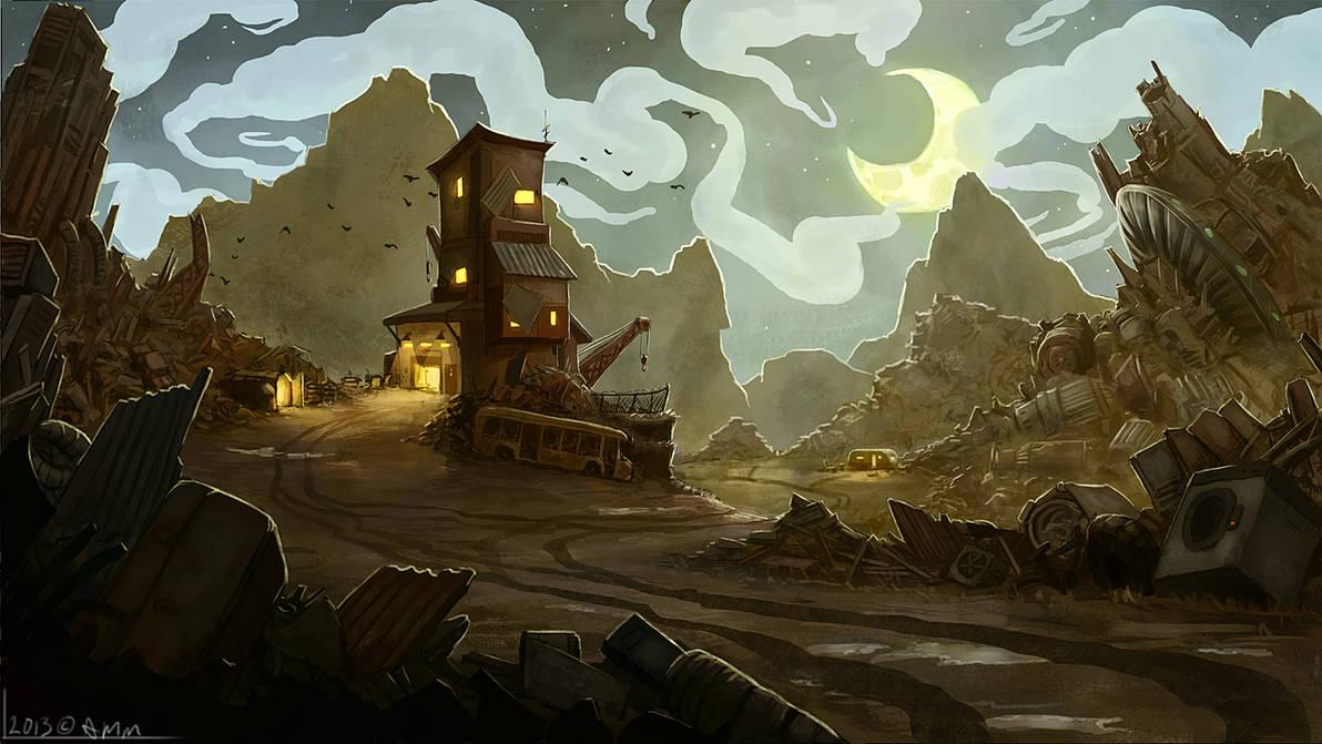Scrapyard by AM-Markussen