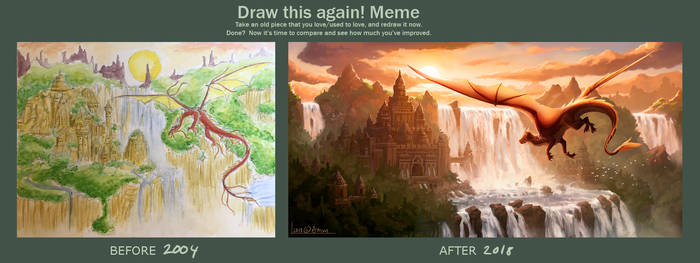 Draw this again: Dragon city by AM-Markussen