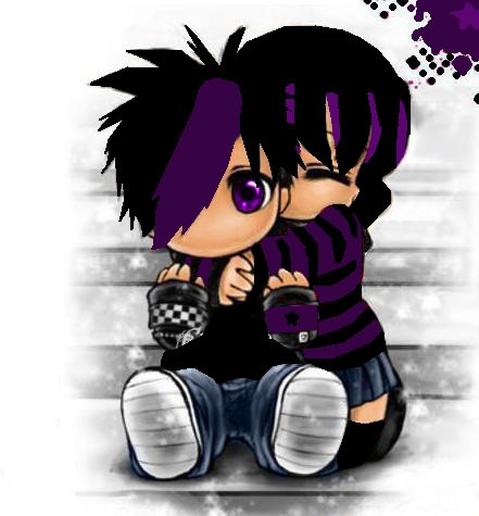 cute Emo Love Wallpaper : Pin cute Emo Love cartoons Pictures on Pinterest