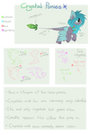 Crystal ponies (Species ref - Partly open)