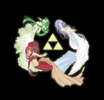 The Legend of Zelda - Three Goddesses