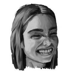 A Seemingly Happy Girl