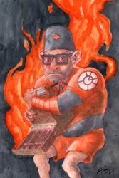 Grunkle Stan/Orange Lantern Mashup
