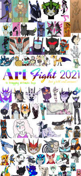 Art Fight 2021 overview