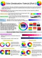 Color Combination Tutorial (Part 1) by JR-Sketcher