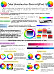 Color Combination Tutorial (Part 1)