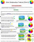 Color Combination Tutorial (Part 2)