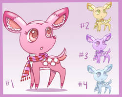 Baby Deer for Adoption! (Status: CLOSED) by JR-Sketcher