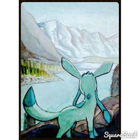 Glaceon In the Mountains