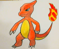 Drawing Charmeleon! (YouTube Video)  by JR-Sketcher