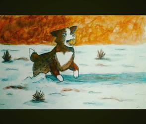 Kiko the Dog :) by JR-Sketcher